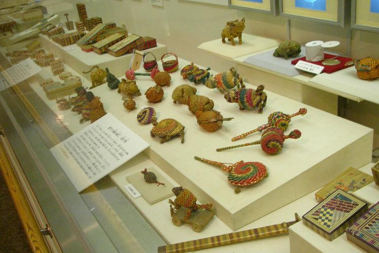 大田区郷土博物館展示室