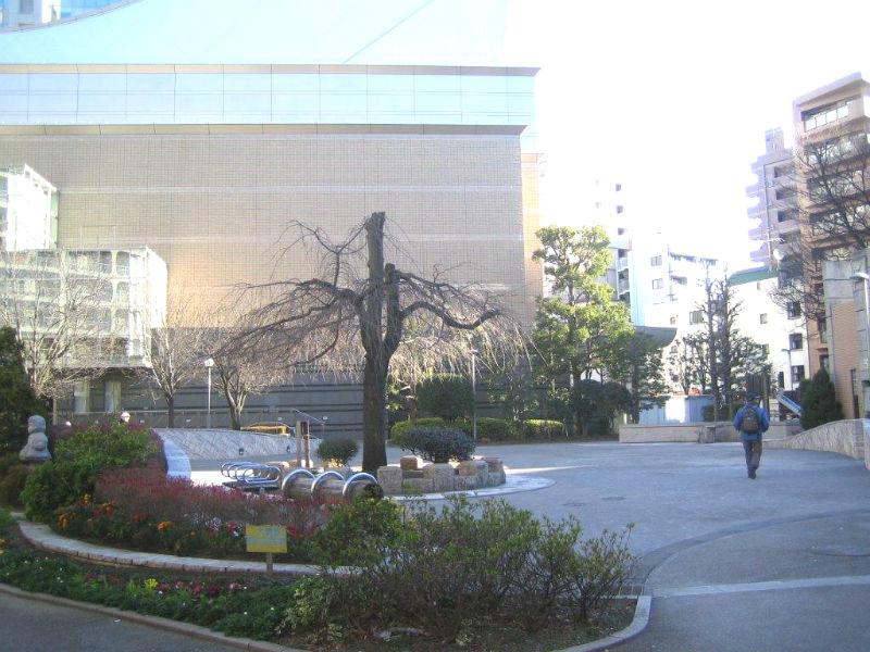集合場所の本蒲田公園